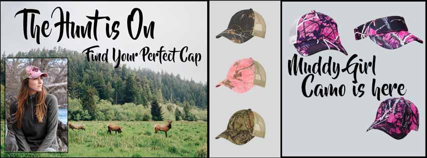 Ladies Cap Hat Camo Pink Realtree Fall Autumn