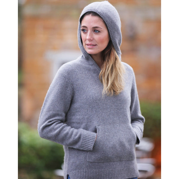 The Burford Pure Cashmere Hoodie
