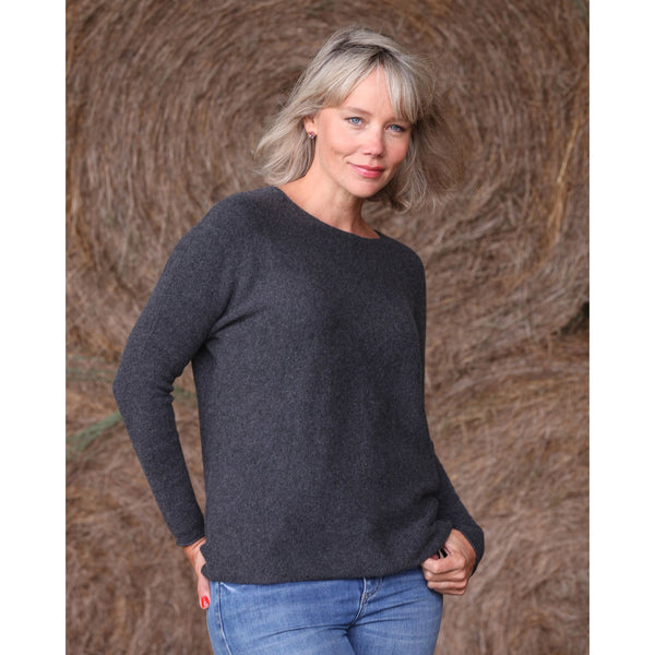 The Cashmere Sweatshirt Crew - Kitted in Cashmere