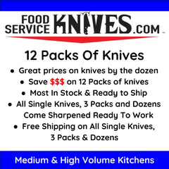 12 PACKS OF KNIVES