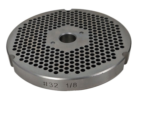 #32 Meat Grinder Plate - Choose Your Grind Hole Size from Coarse to Fine