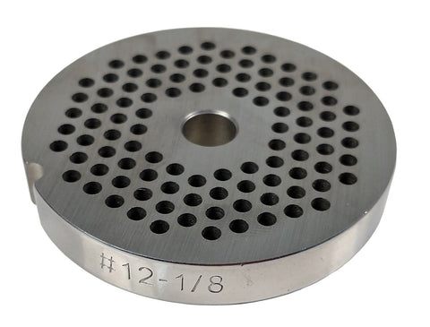 #12 Meat Grinder Plate - Choose Your Grind Hole Size from Coarse to Fine