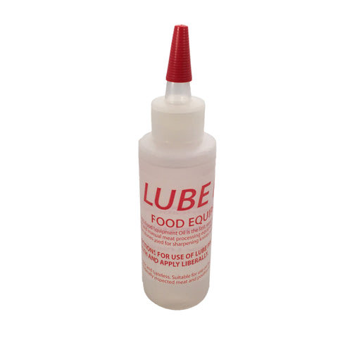 Lube Pro Food Equipment Oil - 4 oz w Yorker Spout-Slicer & Sewing Machine Oil