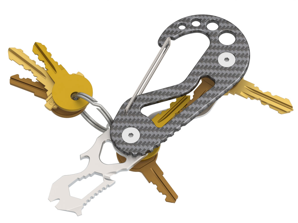 CF Keybiner - Key Holder/Carabiner