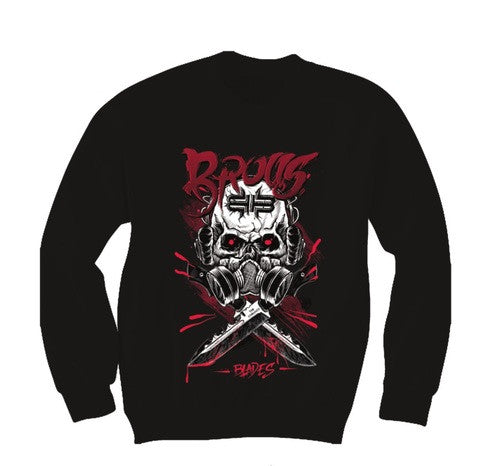 Skull Long Sleeve (Red)