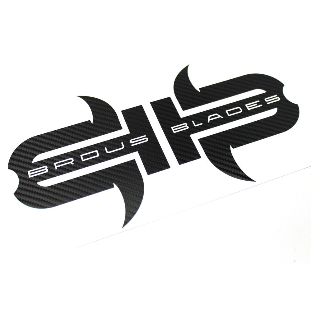 Carbon Fiber Window Decals