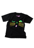 alley cat tee in black