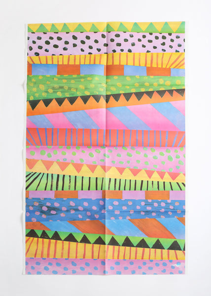 10 sheets of double-sided giftwrap