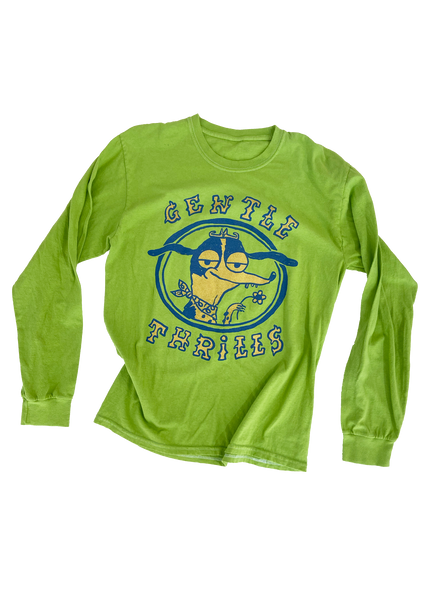 green long sleeve tee