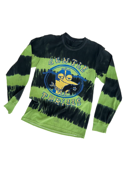 green tie-dye long sleeve