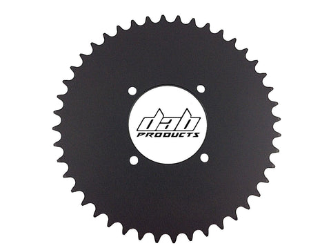 DAB PRODUCTS 4 BOLT REAR FIM STYLE TRIALS SPROCKET 38T TEETH BLACK TRS VERTIGO