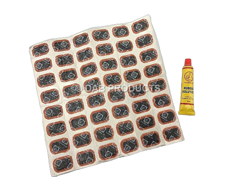 DAB PRODUCTS MOTORCYCLE INNER TUBE PUNCTURE REPAIR KIT
