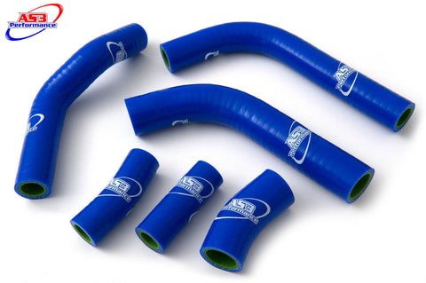 KAWASAKI KX450F  2016-2017  HIGH PERFORMANCE SILICONE HOSE SET BLUE