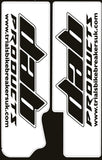 DAB PRODUCTS UNIVERSAL TRIALS FORK STICKERS FOR GAS GAS MONTESA BETA SHERCO TRS