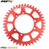 RFX PRO SERIES  6 BOLT REAR TRIALS SPROCKET 42 TEETH RED FITS GAS GAS & SHERCO