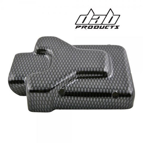 DAB PRODUCTS SHERCO 12-17  SCORPA BETA EVO 09-19 CARBON LOOK CDI COVER PROTECTOR