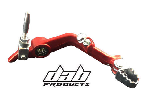 DAB PRODUCTS MONTESA 315R & 4RT  REAR BRAKE LEVER PEDAL RED