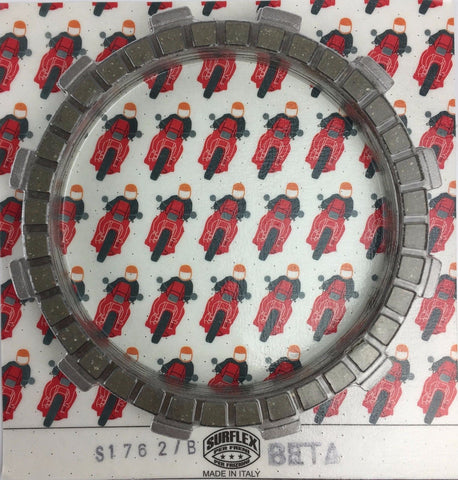 BETA TECHNO REV3 & EVO SURFLEX FRICTION CORK CLUTCH PLATE SET S1762/B