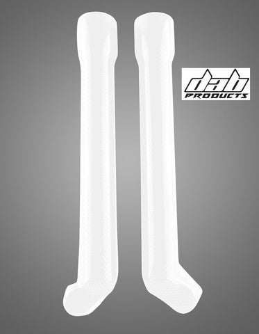DAB PRODUCTS MARZOCCHI  LOWER FORK GUARDS WHITE FOR GAS GAS OSSA JOTAGAS