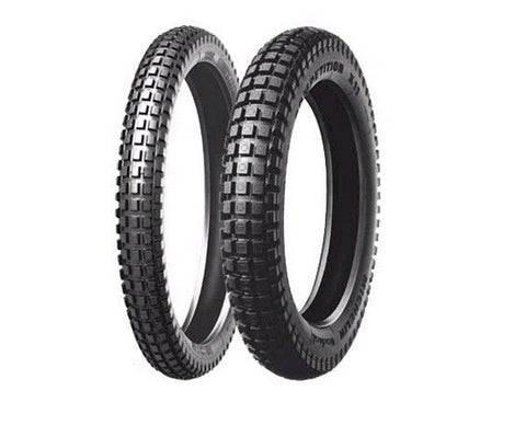 MICHELIN X11 FRONT AND REAR TRIALS TYRES  1PR FOR GAS GAS SHERCO MONTESA BETA