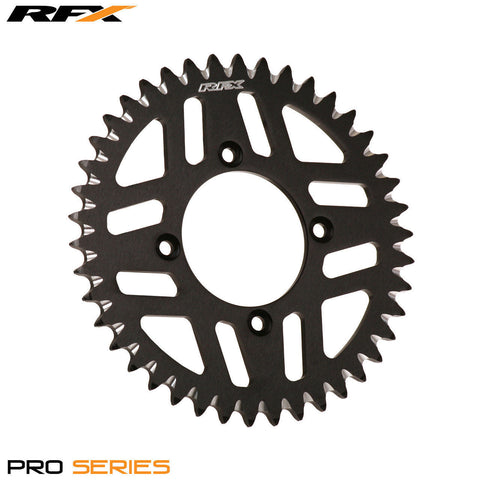 RFX PRO SERIES  4 BOLT REAR TRIALS SPROCKET 43 TEETH BLACK