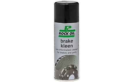 ROCK OIL BRAKE KLEEN CLEANER FOR ALL BRAKE SYSTEMS GAS GAS KTM SHERCO BETA ETC