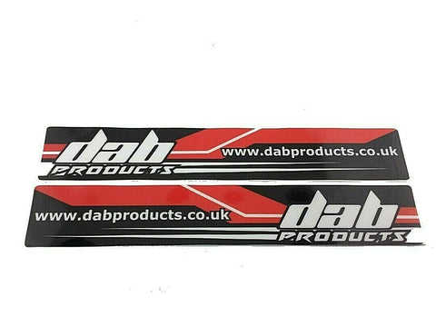 DAB PRODUCTS TRIALS UNIVERSAL SWINGING SWING ARM  STICKERS 1PR GAS GAS BETA 4RT
