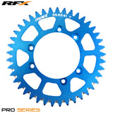 RFX PRO SERIES 6 BOLT REAR TRIALS SPROCKET 41 TEETH BLUE FITS GAS GAS & SHERCO - Trials Bike Breakers UK