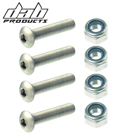 DAB PRODUCTS BETA REV3 REAR SPROCKET NUT AND BOLT SET 4PC 2003-2008