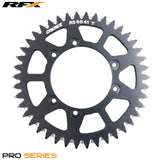 RFX PRO SERIES  6 BOLT REAR TRIALS SPROCKET 41 TEETH BLACK FITS GAS GAS & SHERCO - Trials Bike Breakers UK
