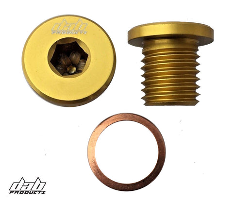 DAB PRODUCTS ENGINE/GEARBOX OIL FILLER PLUG SCREW GOLD GAS GAS SHERCO SCORPA TRS