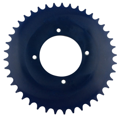 DAB PRODUCTS 4 BOLT REAR FIM STYLE TRIALS SPROCKET 43T BLUE