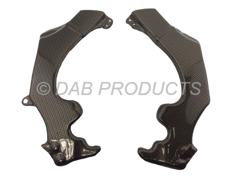DAB PRODUCTS MONTESA 4RT & 4RIDE CARBON WEAVE LOOK FRAME PROTECTORS COVERS 2005-2020