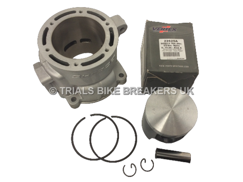 2011 ONWARDS SHERCO TRIALS  ST 290 CYLINDER BARREL & PISTON KIT
