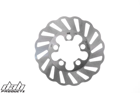 DAB PRODUCTS SLOTTED WAVY  REAR BRAKE DISC FOR  MONTESA COTA 315R 1997-2004