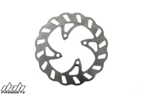 DAB PRODUCTS SLOTTED WAVY  REAR BRAKE DISC FOR  MONTESA COTA 4RT RR REPSOL 2005-2020