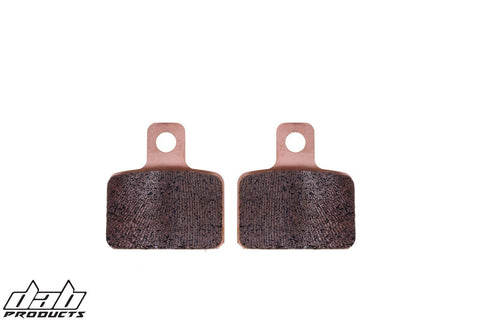 DAB PRODUCTS TRIALS PERFORMANCE REAR BRAKE PADS TO FIT GAS GAS PRO MODELS  02-21