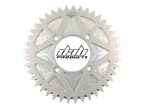 DAB PRODUCTS 4 BOLT REAR FIM STYLE TRIALS SPROCKET 41T TEETH SILVER SCORPA BETA