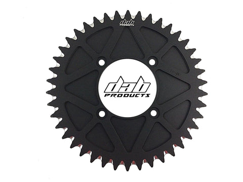 DAB PRODUCTS 4 BOLT REAR FIM STYLE TRIALS SPROCKET 42T TEETH BLACK MONTESA TRS