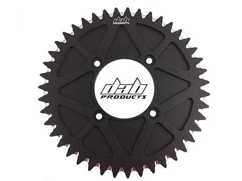 DAB PRODUCTS 4 BOLT REAR FIM STYLE TRIALS SPROCKET 43T TEETH BLACK MONTESA TRS