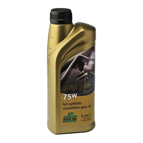 ROCK OIL GEAR PRO 75W TRIALS GEAR OIL 1LTR