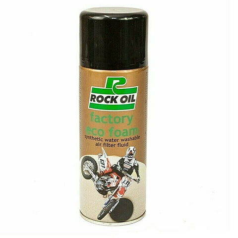 ROCK OIL  ECO FOAM AIR FILTER OIL 400ML FOR GAS GAS SHERCO BETA SCORPA 4RT KTM