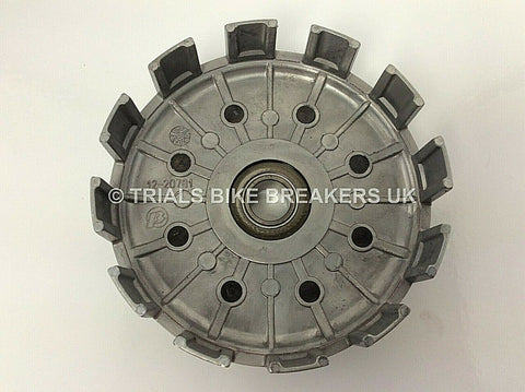 2008 BETA REV3 125cc CLUTCH BASKET WITH PRIMARY DRIVE & CRANKSHAFT GEAR