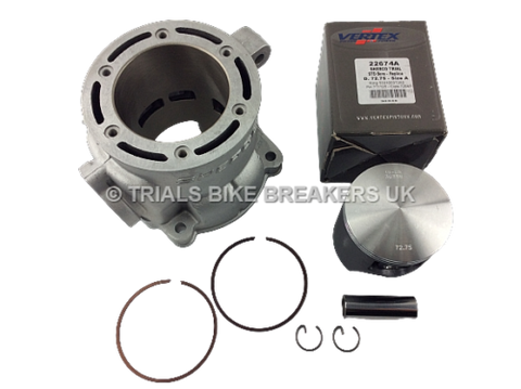 2003>2004 SHERCO TRIALS ST 250 CYLINDER BARREL & PISTON KIT