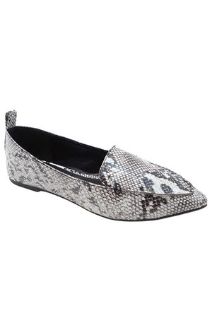 All in with Snakeskin Flats