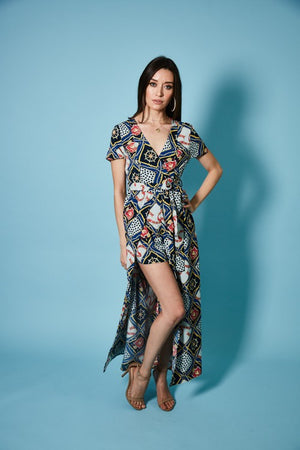 Meet Me on Deck Maxi Romper