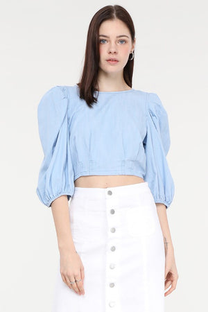 Just Zip It Crop Top