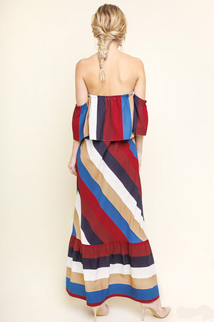 T is for Twirl Maxi Dress