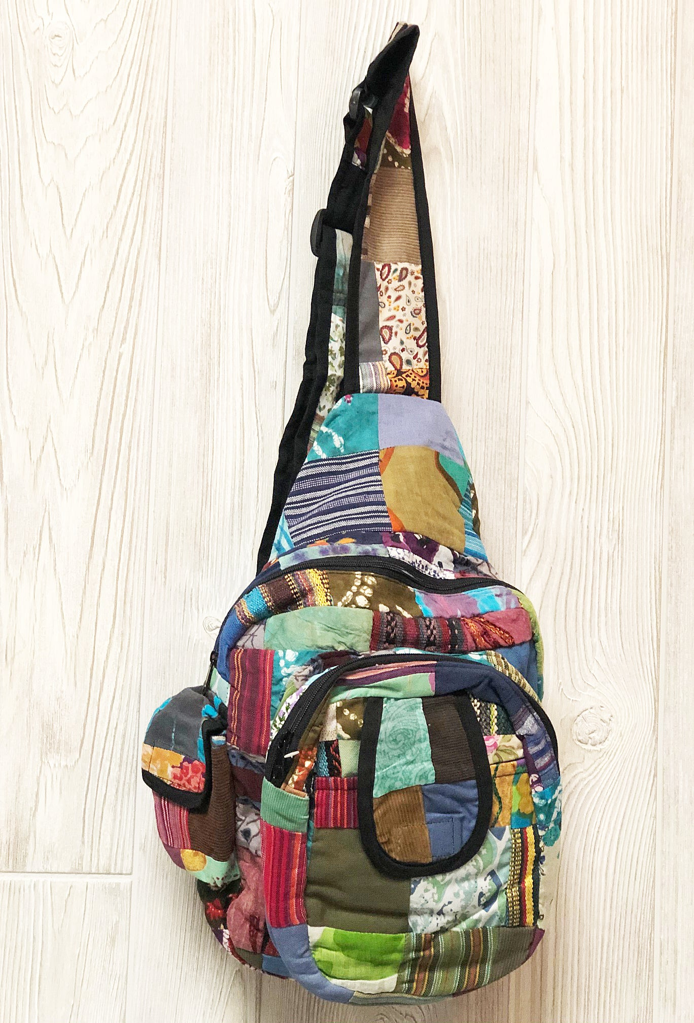 Pretty in Patches Sling Bag