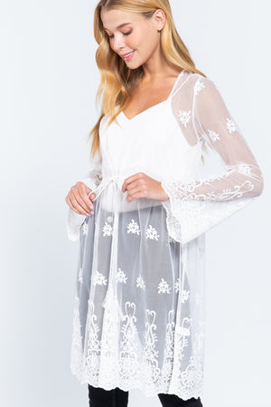 Forever Yours Classic Lace Kimono